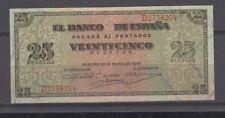 EDIFIL 430a.  25 PTAS 20 DE MAYO DE 1938. SERIE D