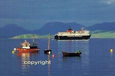 Ship/ferry postcard Calmac's ISLE OF MULL leaving Craignure