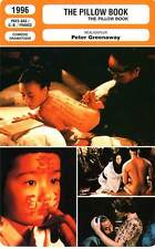 FICHE CINEMA : THE PILLOW BOOK - Wu,McGregor,Oida,Greenaway 1996