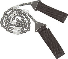 NEW WEB-TEX HD WARRIOR SURVIVAL SAW 65cm LONG,CHAIN SAW STYLE LINK,CAMPING TOOL,