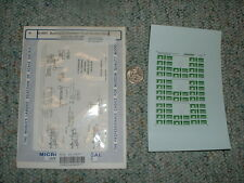 Microscale decals N 60-4097 Burlington Northern thrall dbl stack cars 60-78  H11