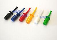 Grabber Test Probe Single Hook Clip ( Red, Blue,Orange,Black,White,Green) x 24