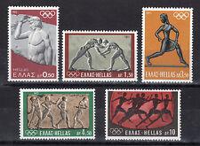 GREECE 1972 MUNICH OLYMPIC GAMES MNH (Vl. 1179/1183)