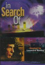 LEONARD NIMOY In Search Of Season Six NEW, BUT UNSEALED!  3-DVD Set Region 1