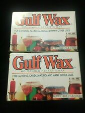 2 1 LB Gulf Wax Household Paraffin Wax for Canning Candlemaking Beauty USA