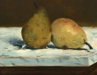 Pears Edouard Manet Still Life Painting Print CANVAS Painting Giclee Repro Small