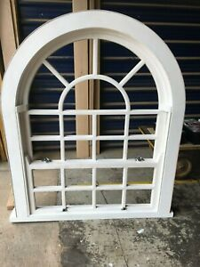 Arched timber casement sliding box sash windows