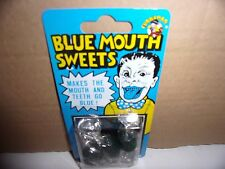 Joke Trick Sweets-Blue Mouth/Fart/Fishy/Garlic/Hot/Soap/Sour.Packs of 3.New