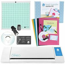 NEW Silhouette CAMEO 3.0 Digital Cutting Machine + Heat Transfer Starter Kit