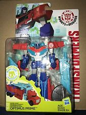 POWER SURGE OPTIMUS PRIME Transformers Warrior RID Mini-Con Weaponizers Robots
