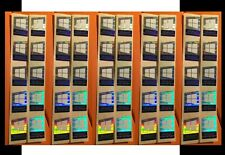 50 pcs fits 2018 Microsoft Windows 10 & Pro Hologram Laser Sticker 17mm x 23mm