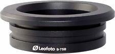 LEOFOTO B-75B 75mm Bowl Adapter for LN-404C, LM-404C, LM-405C, LM-402C Tripod