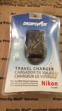 Digipower Digital Camera SLR Travel Battery Charger for Nikon DSLR 500N NEW