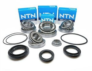 Mercedes-Benz C-Class W204 4Matic Front Differential Bearings Repair Kit