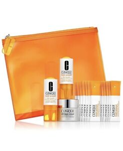 Clinique Fresh Pressed Booster Renewing Powder Cleanser Pure Vitamin C Smart Set
