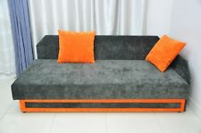 SINGLE BED SOFA BED 'NICK' , NEW, LARGE STORAGE AND SPRINGS! LOTS OF COLOURS!!