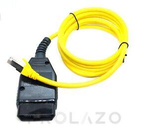 ENET cable for BMW diagnostics OBD2 NBT EVO coding F, I, G series with E-SYS
