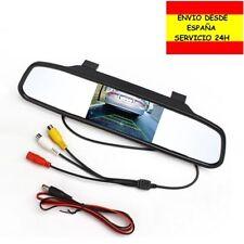 Monitor visión trasera espejo retrovisor central pantalla cámara de coche video