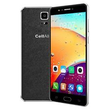 "New CellAllure Miracle 6.0 S 6.0"" Dual Sim 4G LTE (Factory Unlocked) 16GB -Black"