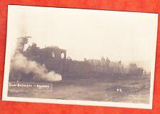 ARGONNEN 1917 CARTE PHOTO ALLEMANDE OCCUPATION TRAIN VOUZIERS