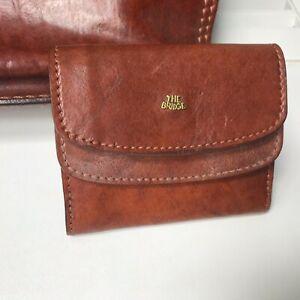 The Bridge Brown Leather Men's Wallet  used