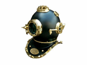 18 Inch US Navy Diving Helmet Mark V Deep Sea Divers Helmet Vintage Replica gift