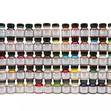Angelus Brand Acrylic Leather & Vinyl Paint Color Chart, Collector's Edition 1oz
