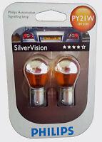 PHILIPS Silver Vision PY21W 12V  21W 2er Blister 12496SV-B2 EAN 8711500311177