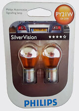 PY21W PHILIPS Silver Vision 12V  21W  Blister 12496SV-B2