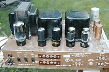 Own A Piece Of History 1ST 1950`s Consumer Stereo Tube Amp Bell 3DT
