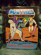 Masters Of The Universe Mini Comic Temple of Darkness ! #4 1983 Bilingual Good