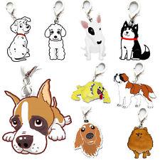 Pet Dog Tag Enamel Collar Accessory Puppy Neck Pendant Key Rings Keychain