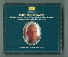 Tschaikowsky Karajan 2 CDs fatbox © 1988 West Gemany KK b-moll Romeo und Julia