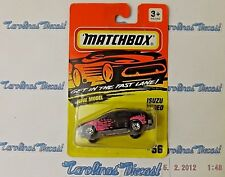 "RARE! VHTF! 1994 Matchbox #56 (black & pink) ""ISUZU RODEO"" ~ G3"