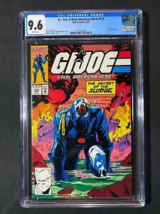 G.I. Joe, A Real American Hero #123 CGC 9.6 (1992) - Hawk biography