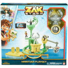 Zak Storm DX Marituga and Coin Playset Multiple Lookouts & Special Features -NEW