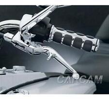 "1"" Black Hand Grips For Suzuki Intruder Volusia VS VL 800 1400 1500 Universal"