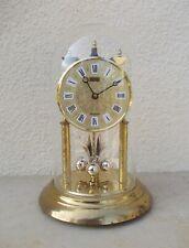 Westminster Silvoz pendule horloge sous globe