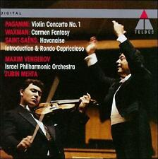 , Paganini: Violin Concerto No. 1 / Saint-Saens: Havanaise / Waxman: Carmen Fant