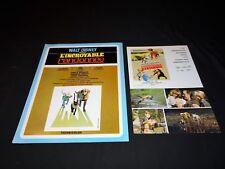 L'INCROYABLE RANDONNEE scenario dossier presse cinema animation walt disney 1963