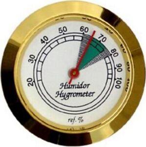 Hygrometer gold 37mm Durchmesser