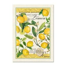 New Michel Design Works Cotton Lemon Basil Kitchen Tea Towel