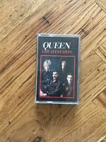 QUEEN GREATEST HITS 1981 (TC-EMTV 30) CASSETTE FREE UK POSTAGE