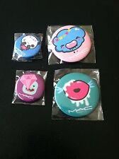 BNIB MAC Cosmetics Quite Cute Buttons Pins Limited Ed SUPER RARE MAC Addict 🎁🎁