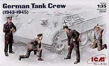 ICM GERMAN TANK CREW 1943/45 Scala 1:35 cod.35211