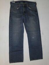 LEVIS 569 Slim Hommes Jeans Pantalon Bleu Stonewashed w32 l32