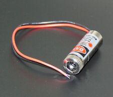 Diodo Laser Rosso Linea Dritta 5V 5mW 650nm Fuoco regolabile