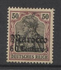 1905 German offices in MOROCCO 60 centimos Germania issue mint*, $ 32.00