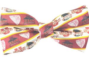 Shaw University bow tie, custom Shaw University HBCU bow tie, Shaw University