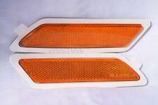 Front Side Marker Reflector Light Lamps One Pair For 2012 325i 328i 328d 320i